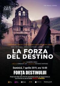 Poster La forza del destino - Royal Opera House