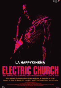 Poster Jimi Hendrix Electric Church