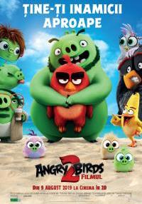 Poster Angry Birds 2: Filmul (dub)3D