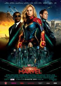 Poster Captain Marvel 3D